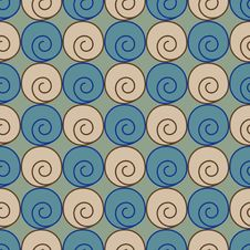 Free Spiral Pattern Royalty Free Stock Photography - 10001927