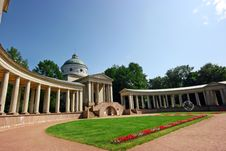 Free Colonnade In The Park Stock Image - 10003971