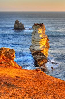 Free Limestone Stacks HDR Stock Photos - 10004693
