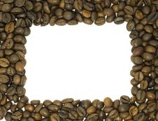 Free Coffee Beans Frame Royalty Free Stock Images - 10004759