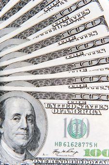 Free One Hundred Dollar Bills Stock Photos - 10005493