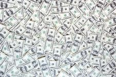 Free Messy Currency Stock Photography - 10005762