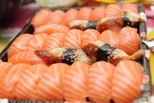 Sushi For Sale Stock Photo