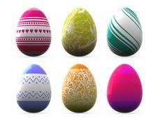 Free Easter Eggs Stock Photo - 10006500