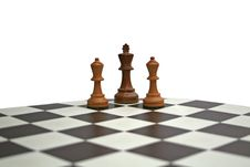 Free Chess King And Bishops Stock Photo - 10006520