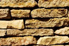 Free Old Stone Wall Royalty Free Stock Photos - 10007188