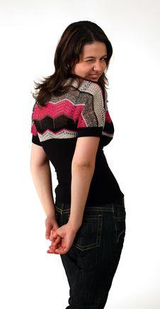 Free Blinking Girl Stock Images - 10007514