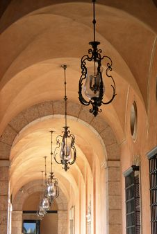 Archway In Palma Stock Photography