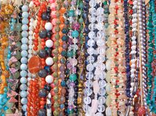 Necklaces Royalty Free Stock Image