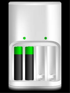 Free Battery Charger Stock Image - 10008721