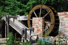 Free Water Wheel Stock Photos - 10008943