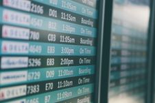 Free Flights Times Stock Photography - 100031022