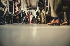 Free Bus Transportation People Stock Images - 100031054