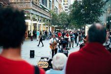 Free Street Performer Music Man Stock Image - 100031111