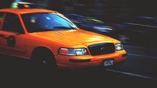 Free Urban Yellow Taxi Cab Stock Photos - 100031123