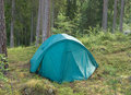 Free Tent In A Forest Stock Photography - 10010722