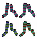 Free Socks Of Different Colors Stock Photo - 10010840