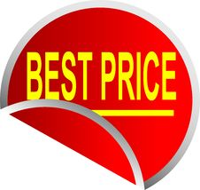 Free Button Best Price Stock Photo - 10010010