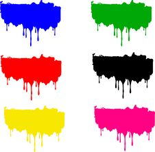 Free Set Of Color Blurs Stock Photos - 10010023