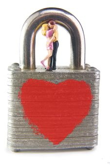 Free Locked In Love Royalty Free Stock Photos - 10010498