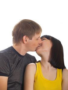 Free Young Couple In Love Stock Photos - 10010593
