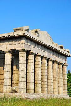 Free Side View Of The Parthenon Royalty Free Stock Photography - 10010637