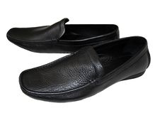 Free Man S Shoes Of Black Stock Photo - 10010860