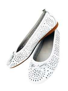 Free White Shoes Royalty Free Stock Photos - 10010868