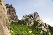 Free Huangshan, Beautiful Mountains Stock Photo - 10011030