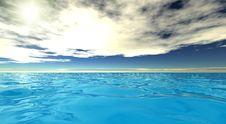 Free Beautiful Sea Landscape Stock Photography - 10011772