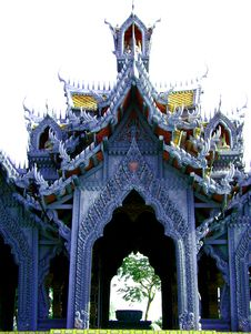 Free Fairytale Thai Pavilion Royalty Free Stock Photography - 10011957