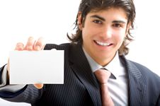 Free Young Director With Card Stock Photography - 10012262