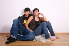 Free Hip Couple Stock Photo - 10012400