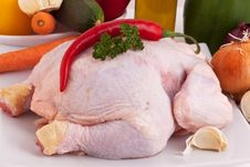Free Chicken Stock Image - 10013601