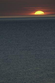 Free Sunset On Sea Stock Photography - 10013722