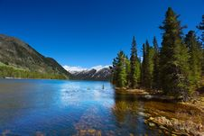 Free Mountain Lake Stock Photography - 10013992