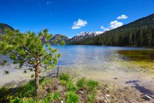 Free Mountain Lake Royalty Free Stock Photo - 10014335