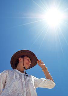 Free Sun-girl Royalty Free Stock Photo - 10014445