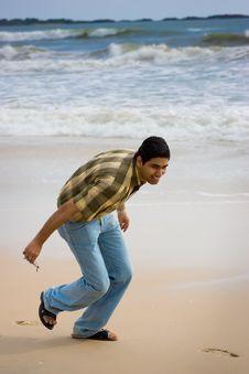 Free Boy At Beach Stock Photography - 10014662