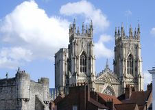 Free York Minster View Royalty Free Stock Photography - 10014697