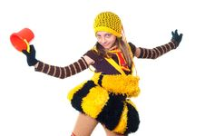 Free Dancing Girl Royalty Free Stock Images - 10015339