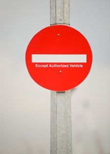 Free Restricted Access Royalty Free Stock Images - 10015509