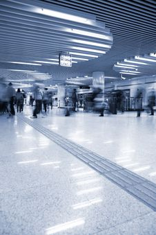 Free Interior Of The Airport Royalty Free Stock Photo - 10015585