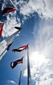 Free Thailand National Flag Stock Images - 10016134