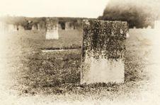 Free Vintage Graveyard Stock Photography - 10016452