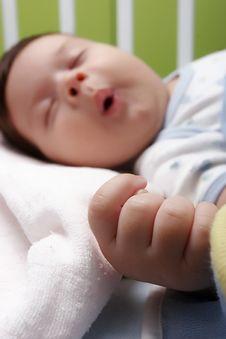 Free Sleeping Baby Stock Photo - 10016740