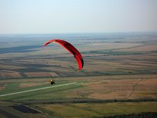 Free Paraglider Royalty Free Stock Image - 10017086