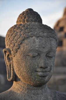 Free Borobudur Buddha Royalty Free Stock Photos - 10017198