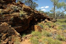 Free George Gill Range, Australia Royalty Free Stock Photo - 10017915