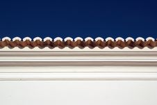 Free Traditional Roofline In Algarve Royalty Free Stock Photos - 10018608
